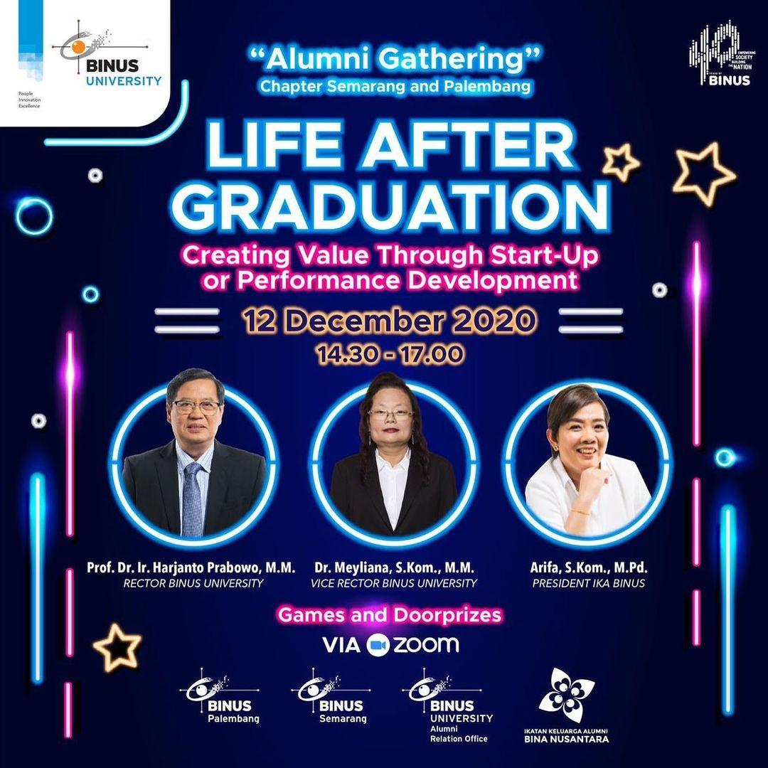 Alumni Gathering Chapter Semarang dan Palembang